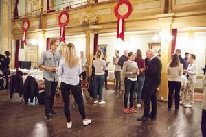Den senaste kullen av mentorer och adepter hade avslutningsmöte på Gamla Teatern i slutet av maj månad.