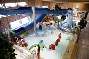 Familjebadet i Ludvika tvingades hålla stängs på fredagen på grund av extra rening. Arkivbild.