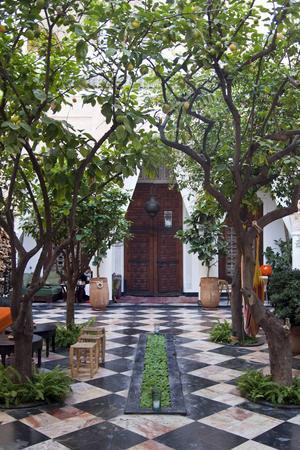 Riad El Fenn i Marrakech ägs av flygmogulen Richard Bransons syster Vanessa Branson.