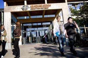Mälardalens högskola. Socialdemokraterna vill ha fler högskoleplatser.                          Foto: Anna Didriksson/arkiv