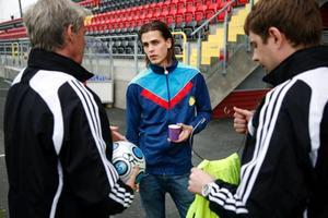 Ante Björkebaum har känt sig hängig och saknas i dagens match.