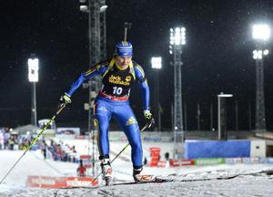 Anna-Karin Strömstedt var bästa svenska med en blygsam 40:e plats i damernas sprintlopp.