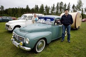 Ulla och Per-Ove Adamsson körde från Sågmyra i Dalarna.