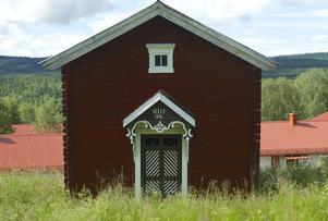 Härbret på Fundins väst på backen byggdes 1881.