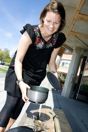 Nina Berggren har gjort en användaranalys av ett stormkök.