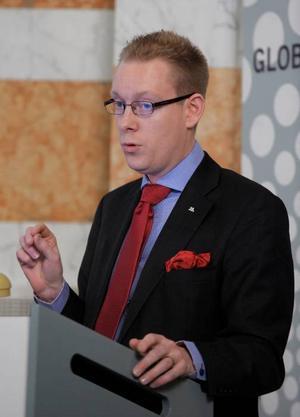 Migrationsminister Tobias Billström.