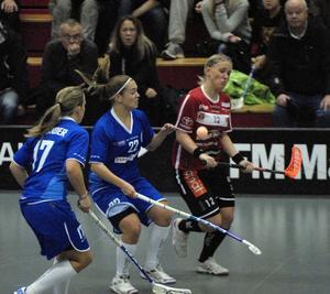 Ellen Tillman svarade för en mycket bra match mot Täby och fick äran att göra hattrick. Kais vann matchen med klara 11–6