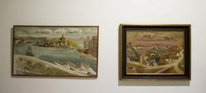 Olof Ågren gillade inte att Stockholm förändrades med industrins och samfärdselns ingrepp i stadsbilden, något som även kan utläsas av hans konst.