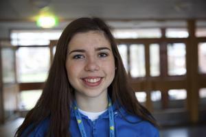 Lisa Palander, 17 år, på Soltorgsgymnasiet hinner inte delta i allt som ska hända under helgen. Hon sitter nämligen i programrådet och är fullt upptagen med det.