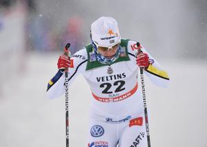 Ida Ingemarsdotter nådde semi tillsammans med Hanna Falk.