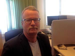 Johan Ullberg är specialist på vägteknik med inriktning tjäle hos Trafikverket.
