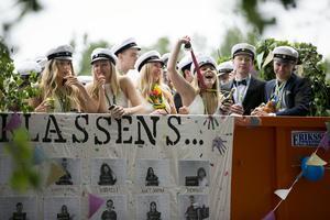 Borlänge hade i år omkring 500 studenter.
