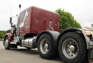 Någon trailer till lastbilen har Anders inte skaffat – ännu.