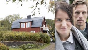 Bobo Sollander och Maria Hestner bor i sitt drömhus på Frösön.