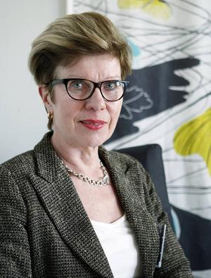 Marju Dahmoun, verksamhetschef på Kvinnokliniken på Sundsvalls sjukhus.