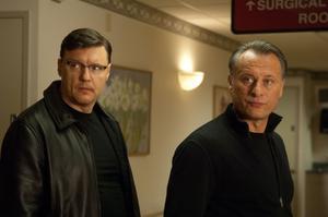 Michael Nyqvist (till höger) spelar den serbiske spionen Koslow som jagar den unge Nathan.Foto: Nordisk film