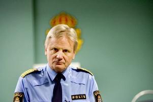 gillar statistik. Rikspolischefen Bengt Svensson kallar sig själv en statistikätare och konstaterar i kraft av det att polisen i Gävleborg sköter sig bättre än riksgenomsnittet.