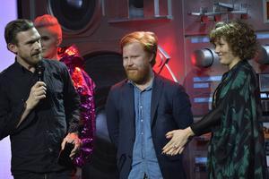 Gruppen Amason, med Amanda Bergman från Gagnef, tog hem den tunga Grammisen för årets album.