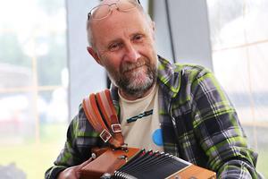 Nolagillets Alf Granqvist från Kläppa, Köpmanholmen, ser fram emot spelmansstämman på Gnistan.