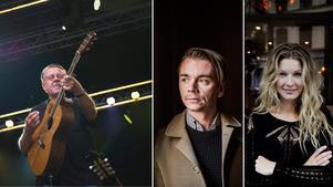 Mikael Wiehe, Emil Jensen och Pernilla Andersson kommer till Parkfesten i sommar.