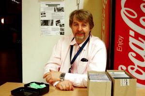 Yngve Persson, ledare för Härjedalens storband, var nöjd med 137 inlösta.