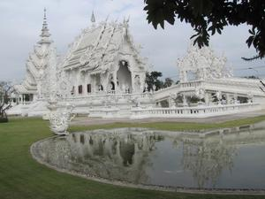 Vita Templet i Chiang Rai
