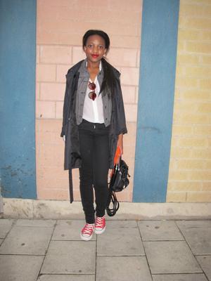 Stilsäker. Rosa Cruz drömmer om att bli modedesigner.