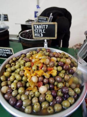 Gott småplock, bland annat oliver.