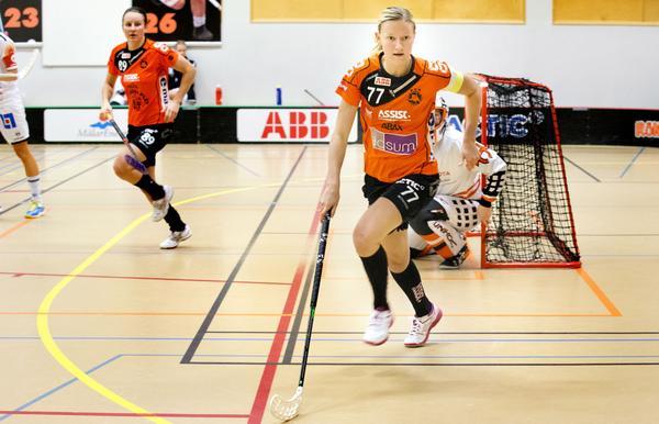 Adina Augustsson – här mot sin nya klubb Karlstad.