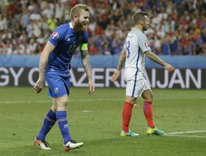 Islänningen Aran Gunnarsson stack ut med sina långa inkast under EM-turneringen i Frankrike.