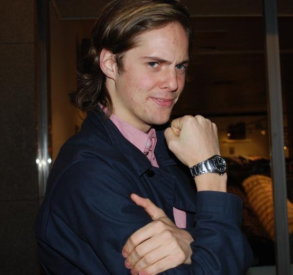 """Görgen """"Mäklarn"""" Andersson, 23 år, ekonom, Gävle.Om du fick byta plats med någon för en dag, vem skulle det vara och varför?– Emil Sandin för att han är stek."""