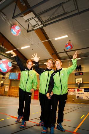 Jerry Tollbring, Endrit Abdullahi och Johan Lundgren.
