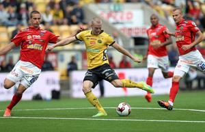 Elfsborgsmittfältaren Daniel Gustavsson är skadad och missar mötet med IFK Göteborg.