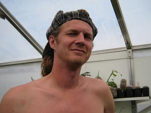 Trädgårdsodlaren och entusiasten Larz Danielsson föreläser i Folkparken i Ljusdal.