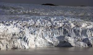 Grönland. Isfri ö under en tidigare varmare period. Foto: Scanpix