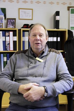 Rolf Johansson, chef på Gruvberget.