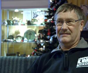 Christer Berggren visar sin morfars alster på Tunadal till och med den 31 december.