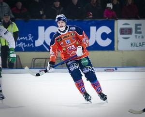 Robin Ehn gjorde sin bästa match i Bollnäströjan så här långt när Bollnäs vann 3–1 mot Västerås.