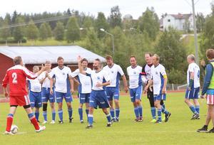 Klövsjö, årets Härjedalsmästare i veteranfotboll.