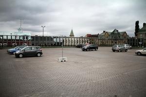 Det är sällan något problem att hitta en parkering i Bollnäs.