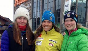 Emma Hammergård, Sara Hector och Sofia von Reedtz.