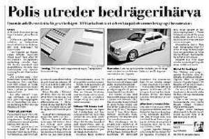 Gefle Dagblad den 23 maj.