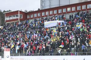 Mellan 14 000 och 15 000 åskådare. Det blev den totala publiksiffran från årets VC-vecka i Östersund. Målet var 25 000 åskådare.