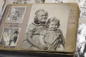 Irma och hennes styvsyster i Hofors.