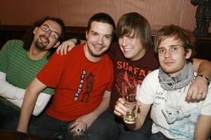 Oliwer, Pablo, Kennet, Erik, Gustaf