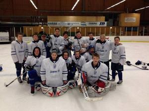 Järpens U14-lag blev trea i Alfta Cupen.