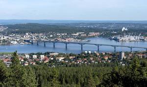 Trafikverket satsar över 20 miljoner på att göra påfarterna till Sundsvallsbron parkliknande.