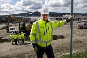 Björn Sjölund, Trafikverkets projektledare.