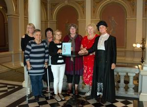 Sundsvalls Dea-förening, som har gett staden en kvinnokarta. Under Stenstadsdagarna presenteras den närmare.
