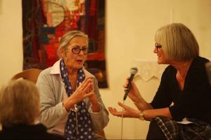Lisa Hansson ställde frågor och Rosa Taikon svarade som vanligt med rapphet och engagemang.